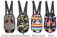 Hot Selling Colorful Canvas Dog Bag Carrier dog bag bike