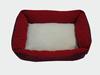 Warm comfortable fleece pet bed house