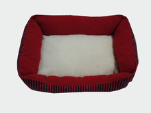 Warm comfortable fleece pet bed house