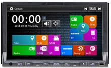 DJ7019 Hot-selling 7inch two din in-dash HD TFT digital panel car dvd player car radio car gps car audio for all universal cars