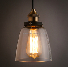 Edison bulb E27 light source and iron material Industrial style lighting
