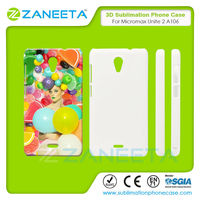 Hot Sale India Sublimation Case 3D Blank Sublimation Cell Phone Case For Micromax Unite 2 A106 In India