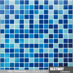 New Design! factory glass swimming pool mosaic