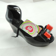 2015 in Europe and the high heel sandals Fashion personality Roman metal hollow out female high heels and sexy club female shoes