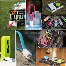 Travel products 2015 Colorful V8 Connection Flat Micro USB Cable,Magnet USB Cable