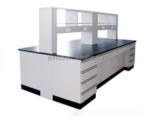 JN - FW042 All Wood Floor Mounted Laboratory Furniture, Lab bench
