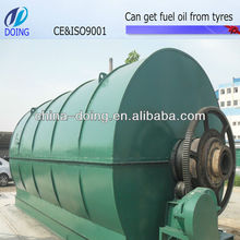 ENERGY SAVING used tire pyrolysis equipment to fuel oil