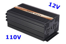 3000W Power Inverter Pure Sine Wave DC 12V AC 110V solar/wind/car/battery invertor free shipping