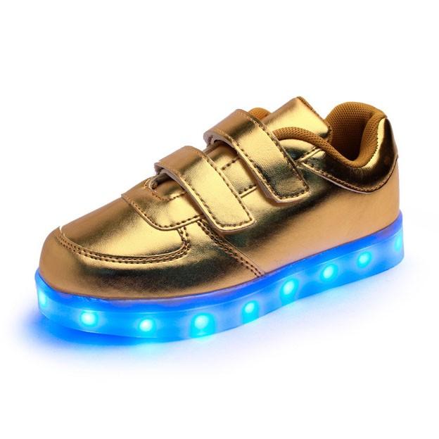 13 лет завод высокое качество led light up дети обувь, популярные светодиодные обувь дети