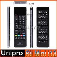 Rii i13 RT-MWK13 2.4G 4in1 Intelligent Air Mouse russian english mini wireless keyboard