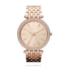 MK Darci Rose Gold Tone Glitz Watch MK3192