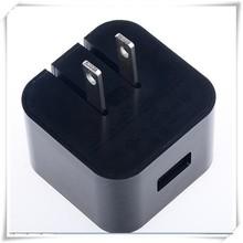 Negro/color blanco nos/ue/reino unido adaptador de enchufe plegable enchufe cargador usb para el teléfono móvil adaptador de ca