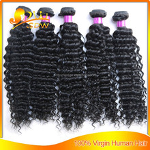wholesale human hair xpressions braiding hair brazilian deep curly online shopping