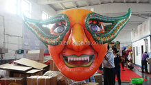 inflatable toy/inflatable halloween mask/inflatable pvc toys