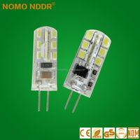 factory hotselling G4 3014SMD 1.5W 12V220V LED bulb
