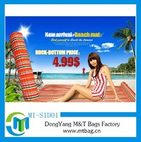 Cheap promotion beach mat with pillow IN STOCK manufactory selling