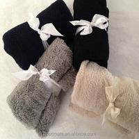 coral fleece office supplies blanket
