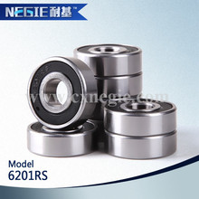 China supplier Cixi Negie factory made high speed precision motorcycle 6201llu bearing