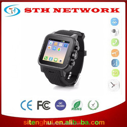 Wholesales OEM/ODM with GPS Wristwatch Phone Android 4.4 wifi Bluetooth DUAL-CORE Smartwatch