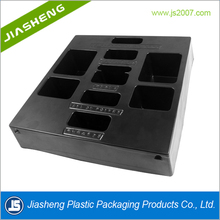Disposable Black PS ESD Blister Plastic Tray for Electronic Packaging