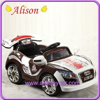 Alison C02505-8 plastic toy battery operate with high LED car
