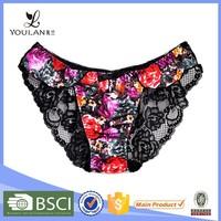 Fantasy OEM service transparent ladies beautiful panty sex girl undergarment