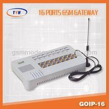 16 port GOIP GSM gateway, voip gateway/gsm voip gateway free international calls