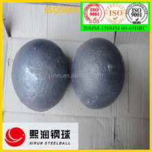 Alibaba best sales 120mm ball mill cast ball as grinding media in cement plant