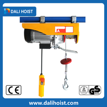 pa series mini electric hoist lifting cables with hooks