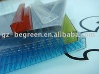 polycarbonate accessory,pc H connector PC profile, pc connector,