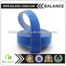 Velcro hook loop cable tie roll for custom cut