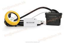 High Quality WISDOM KL4MS Miners Lantern/LED Helmet Light/Lithium Battery LED Miner Lamp With MASHA,ATEX,CE,IP68 (USB Charging)