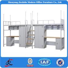 bed room furniture university colledge school dormitory steel metal dubai loft bed