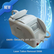 Excellent beauty machine Nd.Yag Laser tattoo removal D003 with powerful laser energy