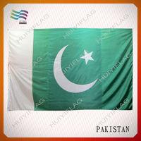 100% Polyester Pakistan National Flag