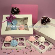 Customed Cupcake Boxes and Inserts