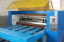 Honeycomb board block slitting machine