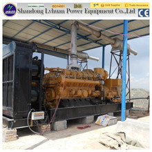 jichai 1mw big power plant electric install natural gas generator