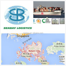 container sea freight from shenzhen to batam