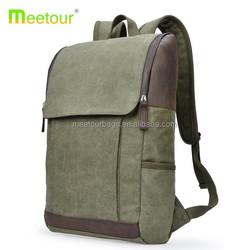 2015 simplicity canvas backpack men shoulder canvas backpack vintage army green student canvas backpack