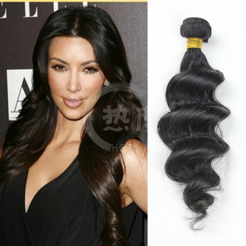 Brazilian Loose Deep Wave Human Hair Weave Virgin Brazilian Loose