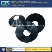 Customized anodized aluminum cone lamp shade