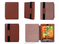 Alibaba Wholesale price Premium PU Material Tablet Case For ipad mini 3 With Elastic Strap