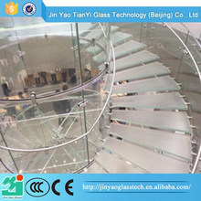tempered glass panel stairs baluster stairs glass glass spiral stairs