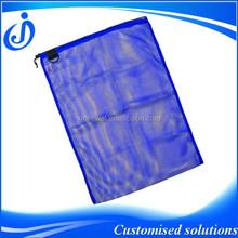 Reusable Polyester Mesh Bag With Drawstring, Mesh Bag, Mesh Drawstring Bag
