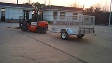 mini diesel tanker trailer for tractor folding motorcycle trailer