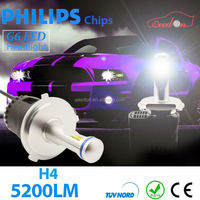 Qeedon excellent customer service white waterproof car light h11 auto led headlight 45W 12v 24v kit off road