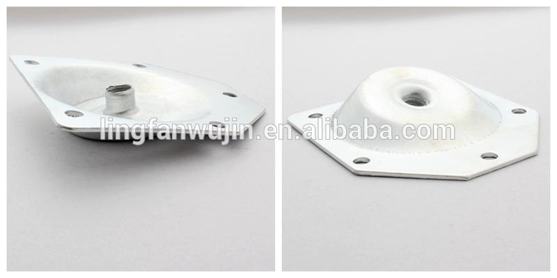Furniture leg mounting platetable leg angle top plate lf 3039 buy 17g watchthetrailerfo