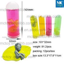 hot sale big size test tube alien crystal putty toy /Alien Putty Toy,Barrel Slime, Crazy Slime