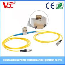 Single mode,inline,variable fiber optical attenuators